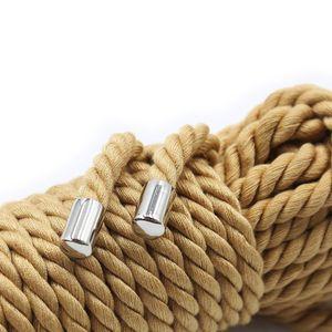 Nouv Faux Jute Coton Tricoté corde Sex Slave Roleplay BDSM Bondage Jouets érotiques Sex Toys pour Couple Polyester Rope