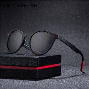 2020 Classic Retro Rivet Polarized Men Women Sunglasses TR90 Legs Lighter Designer round Frame UV400 Protection