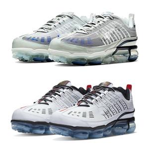 En Örme TN 360 Fly PLUS Platin Renk Tonu 3M Siyah Beyaz VaperMaxes Mavi YENİ Koşu Ayakkabı Gökkuşağı Kutusu ile Sneakers Sports 36-45 Büyüdü