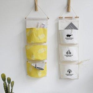 Nordic Things Wall Organizer Pocket 3 titolare della borsa cosmetica appesa su sacchetto stoccaggio stoccaggio di makeup sunds sdraie il contenitore armadio1 kbqpd