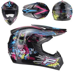 Мотоциклетные шлемы 2021 шлем ATV Mens Moto Высокое качество Casco Capacete Motocross от Road DH Racing1