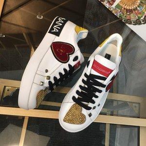 Modedesigner Mann Frau Freizeitschuhe Luxus Plattform Trainer Turnschuhe hochwertige vorzügliche Fertigkeit flache Schuhe 7427086
