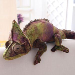 100cm Plush Toys Cute Animal Lizard Chamele Creative Soft Stuffed Toys Office Home Decorations Boys Gifts Doll Kids Birthday Present