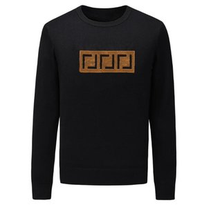 Dernier pull de mode Broderie Cachemire Manteau International Sweat-shirt Sweat-shirt doux et mince pour femmes M - 3XL