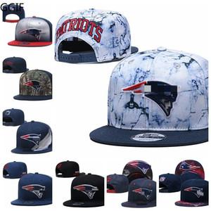 Nueva InglaterrapatriotasHombres Sport Caps Hombres Mujeres Jóvenes 2020 Tip-Off de la serie 59FIFTY ajustable del Snapback de fútbol sombrero gris