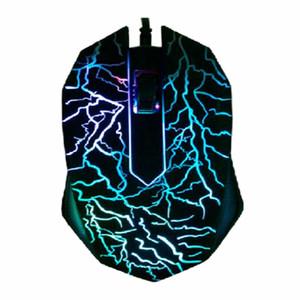 Mäuse kabelgebundener 3D-Computer-Gaming-Maus-professionelle Gaming-Maus mit den 3.Bright-Farben LED-Hintergrundbeleuchtung und Ergonomie-Design Gaming-Mäuse für LOL CS