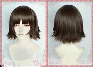 For Cosplay Japan Anime Persona 5 Makoto Niijima Cosplay Wig+Wig Cap