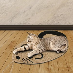 Sisal Cat Scratcher Board Scratching Post Mat Toy Soft Bed Mat Claws Care Pet Toys Scratching Post Toys sqcryq sports2010