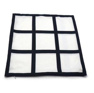 Sublimação Transferência Fronha 9 Painel Calor de Impressão Calor Travesseiro Coberturas DIY Almofada Throw Sofá Pillowcases Crianças Fahrenheit Pillow HWC3362