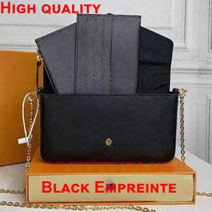 패션 여성 Luxurys Mens 디자이너 체인 여성 어깨 지갑 핸드백 가방 지갑 신용 카드 홀더 토트 백 키 Zippy 동전 지갑 2021