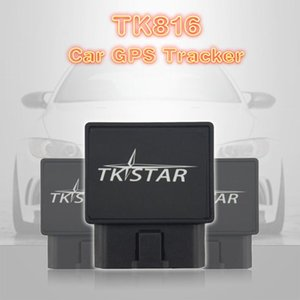 Free Platform Tracking Device Monitor OBD Car GPS Tracker TK816 GPS Vehicle tracker Over-speed Alarm GPRS GSM Locator