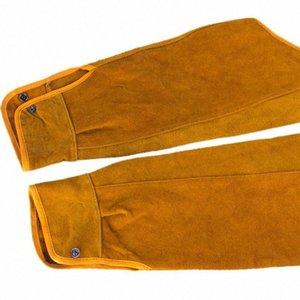 2pcs 21.6 inch Imitation Leather Welding Sleeves Protective Heat Arm Sleeve Tool qDog#