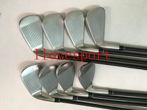 2019 APEX CF19 Golf Clubs Irons CF19 APEX Golf Irons Set 3-9P R / S Grafite / Aço Eixos DHL frete grátis