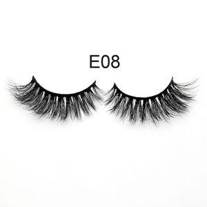 020 mink eyelashes vendor new design full strip 3d eyelashes mink lashes private label 3D mink lashes
