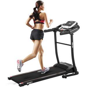 Tapis de course électrique pliant classique Home Gym Machine de course motorisée Équipement de sport Femme Equipement rapide Stock d'expédition rapide aux États-Unis MS189189BAA
