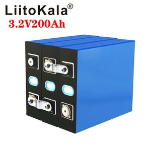8 pcs liitokala lifepo4 3.2v 200ah rechargeable battery 24v 200ah suitable for long life solar energy 3500 cycles eu