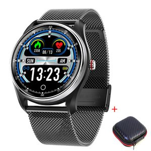 MX9 2019 New watch for Swimming smart bracelet ECG Touch-Screen Blood-Pressure Heart-Rate IP68 Waterproof