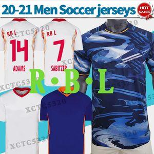 RBL لكرة القدم بالقميص المنزل الأبيض قمصان كرة القدم POULSEN فورسبرغ 20/21 الرجال بعيدا 3RD مخصصة زي دوري الدرجة الاولى الالماني لكرة القدم