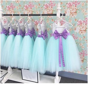 Pudcoco 2019 Princess Kids Baby Girls Sequins Tulle Sleeveless Dress Big Bow Tutu Party Wedding Dress Summer Girls sqcFcy