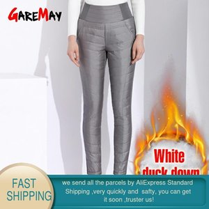 Garemay Warm Pants For Women Classic Trousers Female Plus Size Autumn Winter Pants Women's Classic With High Waist Black 201022