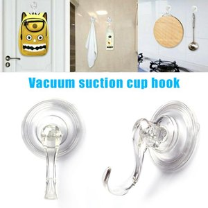 1 5 Pcs Removable Vacuum Sucker Suction Cup Hook Wall Window Clothes Holder Home @LS