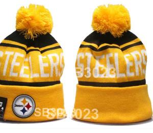 Step Hat Steelers Beanie Hecha de punto Beanie Mujer Hombre Sombrero de lana Captura crucial Intercep Cancer Knit Bonnet Gorros Gorro Cálido de invierno A3