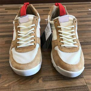 Tom Sachs Craft Mars Yard Ts Nasa 2.0 Chaussures Naturel / Sport Rouge-Maple Unisexe Chaussures de causalité 36-45