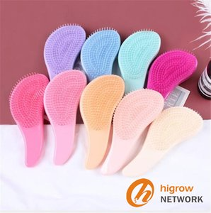 New arrival 9 Colors Macaron massage comb for smooth hair without knotting portable comb cute girl hairdressing comb 30