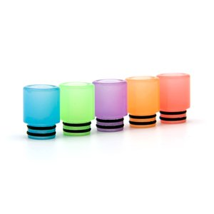 VapeSoon001 510 Luminous Drip Tip Resin Mouthpiece Suit For Falcon tfv8 baby melo 3 mini etc