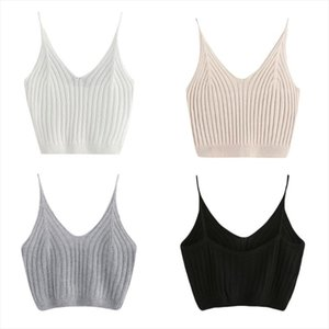New Fashion women tank Womens Summer Basic Sexy Strappy Sleeveless Racerback Crop Top Drop Shipping Good Quality