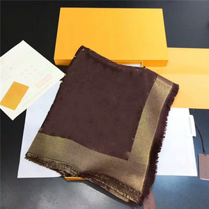 Moda Lenço Clássico Design de Ouro Lápis de Lã Jacquard Lenço Fashion's Triângulo Scarf 140 * 140cm