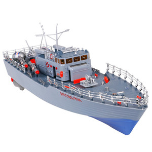 RC Boat 1 275 Destroyer WarShip Remote Control Military Naval Vessels Racing Ship Electronic Model For Kids Birthday Hobby Toys