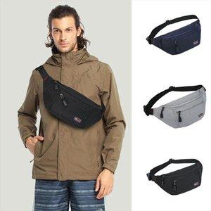 Waist Travel Security Large Zipped BUM BAG Bum Waist Belt Bag Passport Wallet Bumbag Money Pouch Inwgf