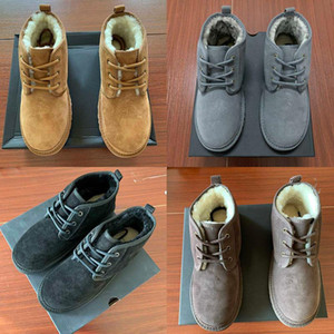 Classic Boots Designer cinghie caldo casuale Xmas Top Mens delle lane di inverno del pattino della neve delle donne stivali da uomo Platform Martin Boot Stivali Femmes Booties