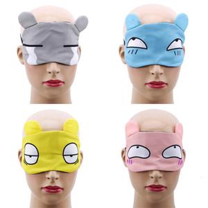Nouvelle mode dessin animé mignon chat sommeil masque oeil de haute qualité style kawaii style rembourré couvercle de couverture voyage détente