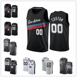 Benutzerdefinierte Demar 10 Derozan dejointer 5 Murray Aldridge Manu 20 Ginóbili Keldon 3 Johnson Tony 9 Parker Patty 8 Mills City Basketball Trikots