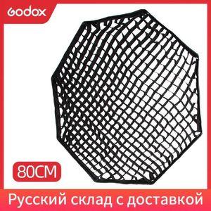 """Godox Portable 80cm 32 """"Flash Speedlight 용 소프트 박스 리플렉터 (그리드 전용) 1"""