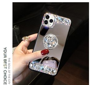 3D Acrylic Sunjolly Mirror Cerram Diamond Case для iPhone 11 Pro Max XS MAX XR 8/7 PLUS 6 / 6S PLUS PLUS SE2020 Case Case SQCWDU BDEFASHION
