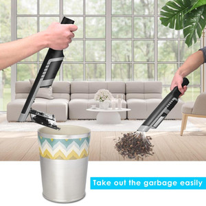 16000PA Powerful Suction Brushless Car Portable Vacuum Cordless Handheld Vacuum Cleaner With Storage Stand Multi-attachments