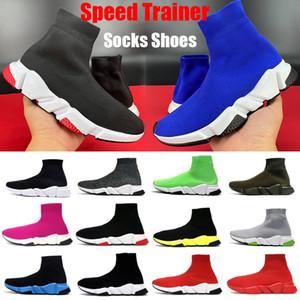 Top Speed Trainer Plattformschuhe Männer Frauen Socken Schuhe Partei Paare triple Schwarz Weiß königsblau beige rot Mens beiläufige Turnschuhe Größe 5-11