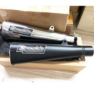 Egzoz Borusu Susturucu Motosiklet Krom Siyah Renk Performansı Kaçış Moto Fit Cafe Racer HP4 ZX14 S1000RR ZX10R 4001