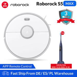NOUVEAU Roborock S5 Max Xiaomi Robot Aspirateur pour Smart Home Balayer robotisée Nettoyage Mope de mise à niveau Roborock S50 S55 Mi Robot