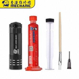 CG00 # 10ML curabile Solder Mask Mast Brush Solder Paste PCB LED inchiostri UV Flux Olio di saldatura Verde Flussi 9 morbida UV MECCANICO CG00 # 1 Jaob