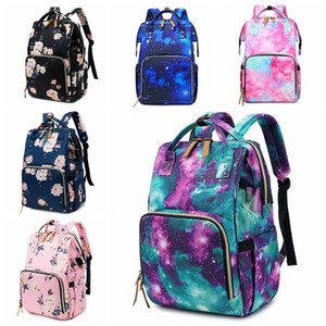 Free Sshx Bag Stroller Convenient Baby Shipping Hooks Baby Backpack Large For Diaper Tie-dye Mummy Bags Organizer Bag Designer-Fashion Vtlp