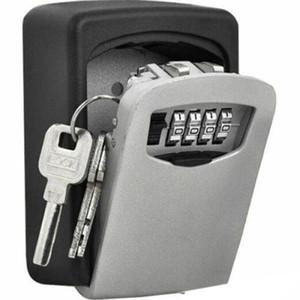 Wall Mounted 4 dígitos Clave Caja fuerte con la alta seguridad al código de bloqueo-Almacenamiento