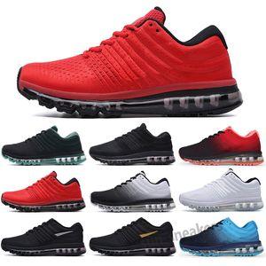 MAX 2017 2021 Drop Shipping 2017 Nuovi arrivi Uomini Scarpe da donna Sneaker Nero Bianco 2016 Sport Sport di alta qualità Scarpe da corsa US SZ 5.5-11 S25