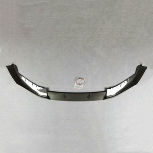 Three-Piece Front Lip Spoiler For B-MW 5 Series G30 G38 2021 ABS Carbon Look Car Styling Front Diffuser