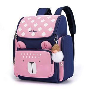 Bambini Cartoon Zaini Bambini Borse per bambini per ragazze Boys Orthopedic Zaino SchoolBag Schoolbag School School Backpack per bambini Mochila 1031