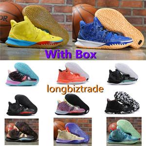 Natal para venda sapatos de basquete designer sneaker kyrie 7 pré-calor homem homem basquete sapatos