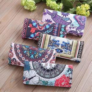 new Women Pattern Hasp Long Wallet Purse Hand Bag Vinatge Cell Phone Clutch Wallet Money Bag Carteira T2